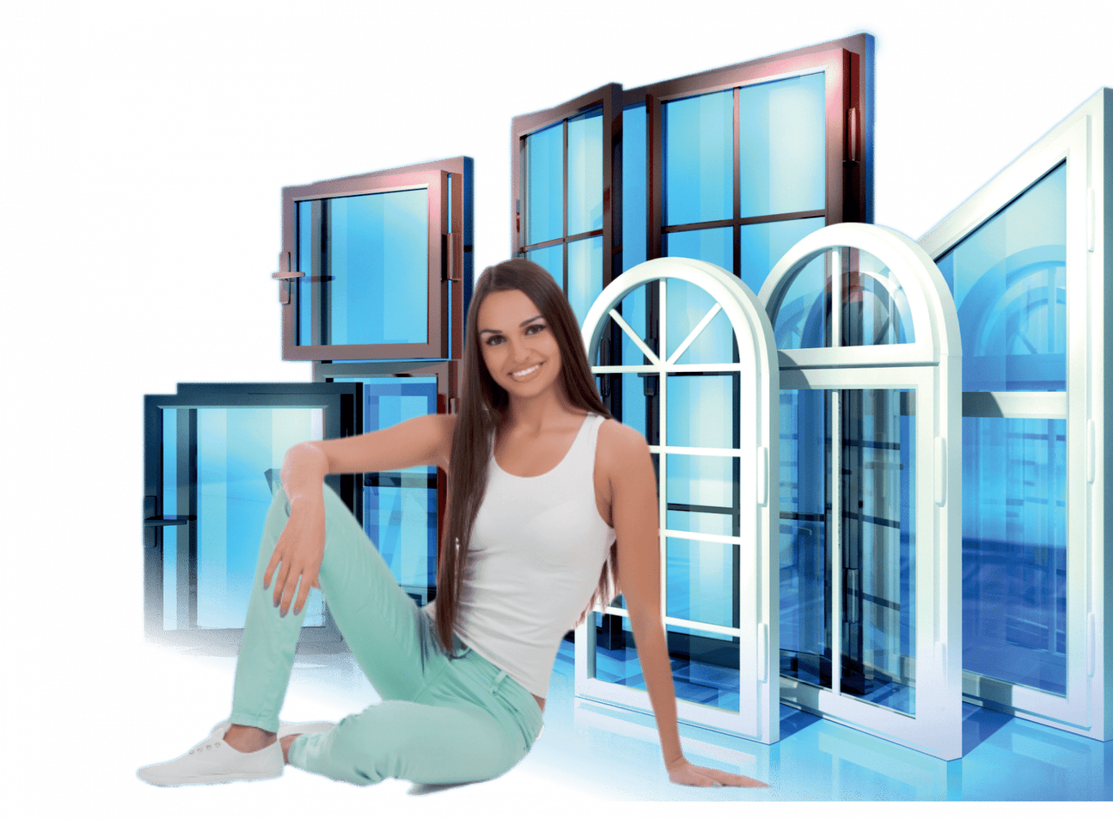 алюминиевые раздвижные окна