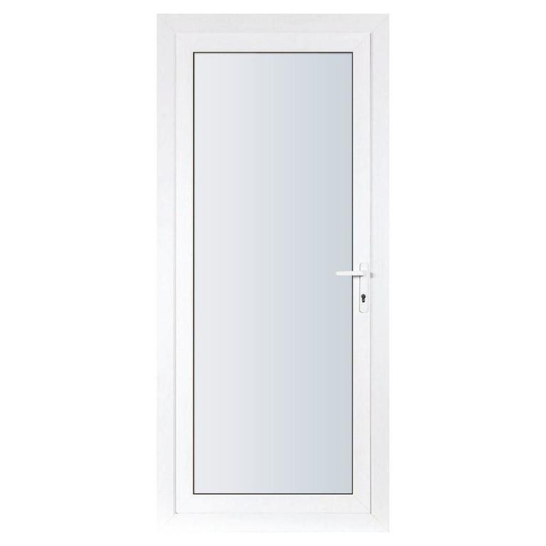 алюминиевые двери одностворчатые