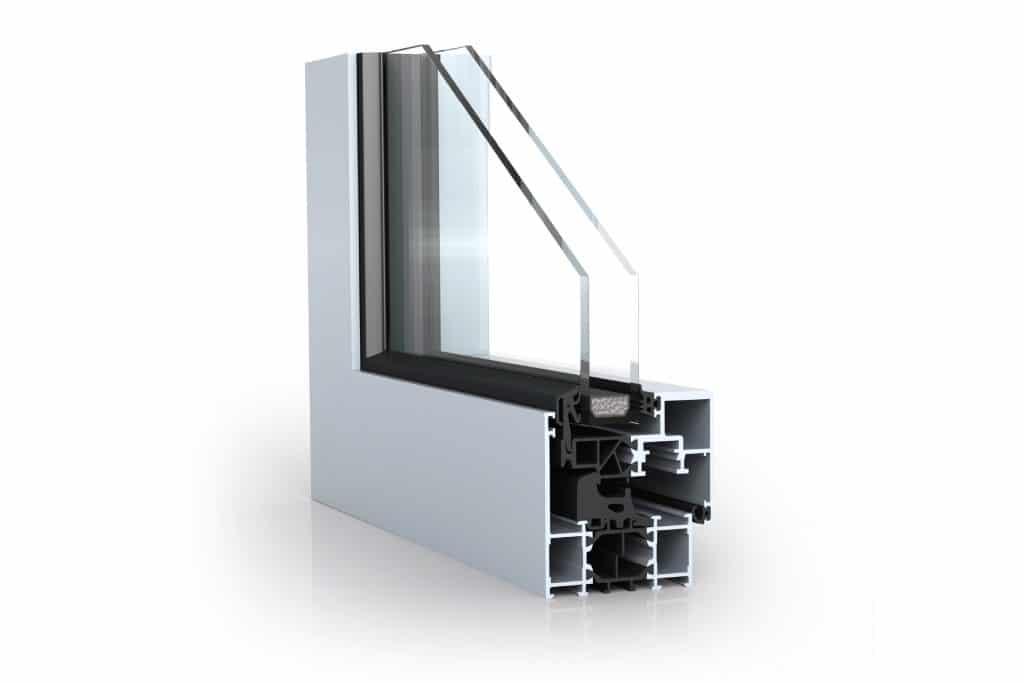 Алюминиевые окна Alumark